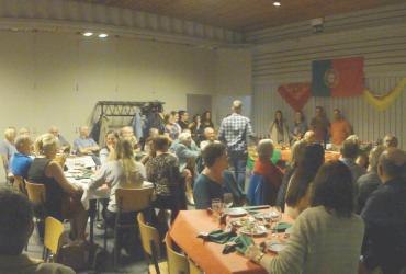 Een ontmoetings-avond met de Herenthoutse Portugese gemeenschap.